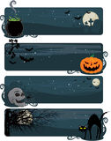 Halloween banners Stock Photo