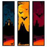 halloween banners royalty free stock image