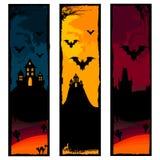 Halloween banners Royalty-vrije Stock Afbeelding