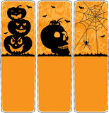 Halloween banners Royalty Free Stock Images