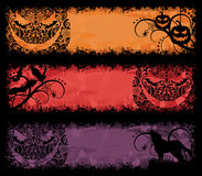 Halloween banners. Stock Photo