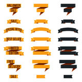 Halloween Banners. A set of halloween banners for promotional or other purposes