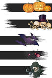 Halloween banners Royalty Free Stock Photo