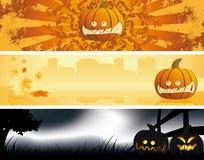 Halloween banners Stock Photos