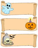 Halloween banners collection 1. Vector illustration stock illustration