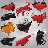 Halloween banners collection. Royalty Free Stock Photos