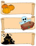 Halloween banners collection 2. Vector illustration stock illustration