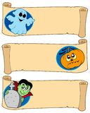 Halloween banners collection 4. Vector illustration royalty free illustration