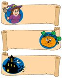 Halloween banners collection 5. Vector illustration royalty free illustration