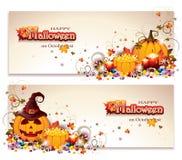 Halloween Banners vector illustration