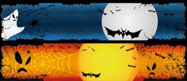 Halloween Banners Set Royalty Free Stock Photos