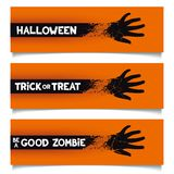 Halloween banners template Royalty Free Stock Photos