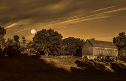 Halloween barn Stock Photos