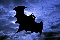 Halloween - Bat Stock Photo