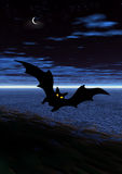 Halloween bat Stock Photography
