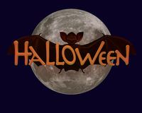 Halloween Bat Stock Images
