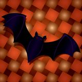 Halloween Bat. Illustration of a halloween bat Royalty Free Stock Images