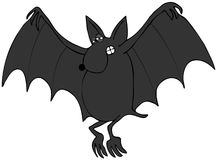 Halloween bat Stock Image