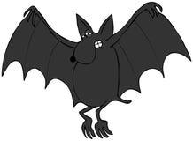 Halloween bat Stock Image