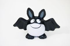 Halloween bat. Halloween funny bat, huge smile.Isolated item Royalty Free Stock Images