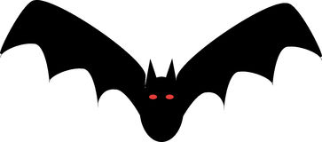 Halloween Bat Royalty Free Stock Photo