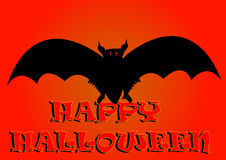 Halloween bat background Royalty Free Stock Photos