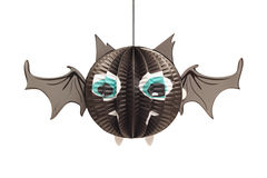Halloween bat lantern Royalty Free Stock Photography