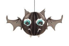 Halloween bat lantern Royalty Free Stock Photography