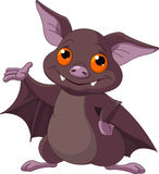Halloween  bat presenting Stock Images