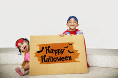Halloween Bat Pumpkin Lantern Scary Graphic Concept Royalty Free Stock Images