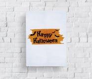 Halloween Bat Pumpkin Lantern Scary Graphic Concept Royalty Free Stock Image