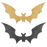 Halloween bat recycled papercraft Royalty Free Stock Images
