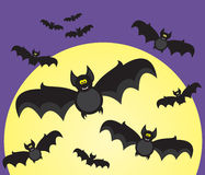 Halloween bats Royalty Free Stock Photo