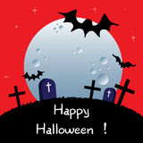 Halloween bats Stock Image