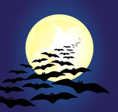 Halloween Bats Royalty Free Stock Photography