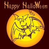 Halloween bats A Royalty Free Stock Photos