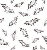 Halloween bats pattern Stock Photo