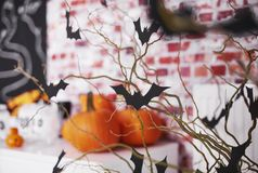 Halloween decoration royalty free stock photos