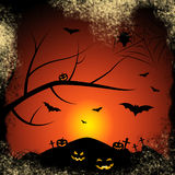 Halloween Bats Represents Trick Or Treat And Autumn Stock Image
