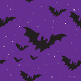 Halloween bats seamless background Royalty Free Stock Image