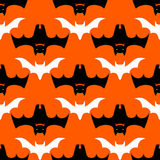 Halloween bats seamless pattern Royalty Free Stock Photography