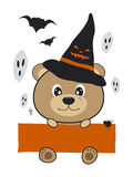 Halloween bear design Royalty Free Stock Photos