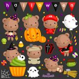 Halloween Bear Royalty Free Stock Images