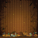 Halloween beautiful illustrative decoration Royalty Free Stock Photos