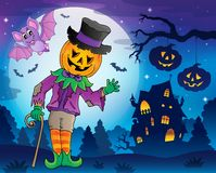 Halloween-beeld 5 van het themacijfer Royalty-vrije Stock Foto