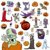 Halloween-beeldverhaalreeks Royalty-vrije Stock Foto