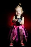 Halloween behandla som ett barn häxan Royaltyfri Bild