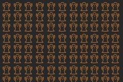 Halloween-behang voor vakantie Stock Foto's