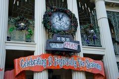 Halloween bei Disneyland Lizenzfreie Stockfotografie
