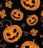 Halloween bezszwowy Fotografia Stock